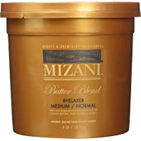 Mizani Medium/Normal Butter Blend Relaxer for Unisex, 4 Pound