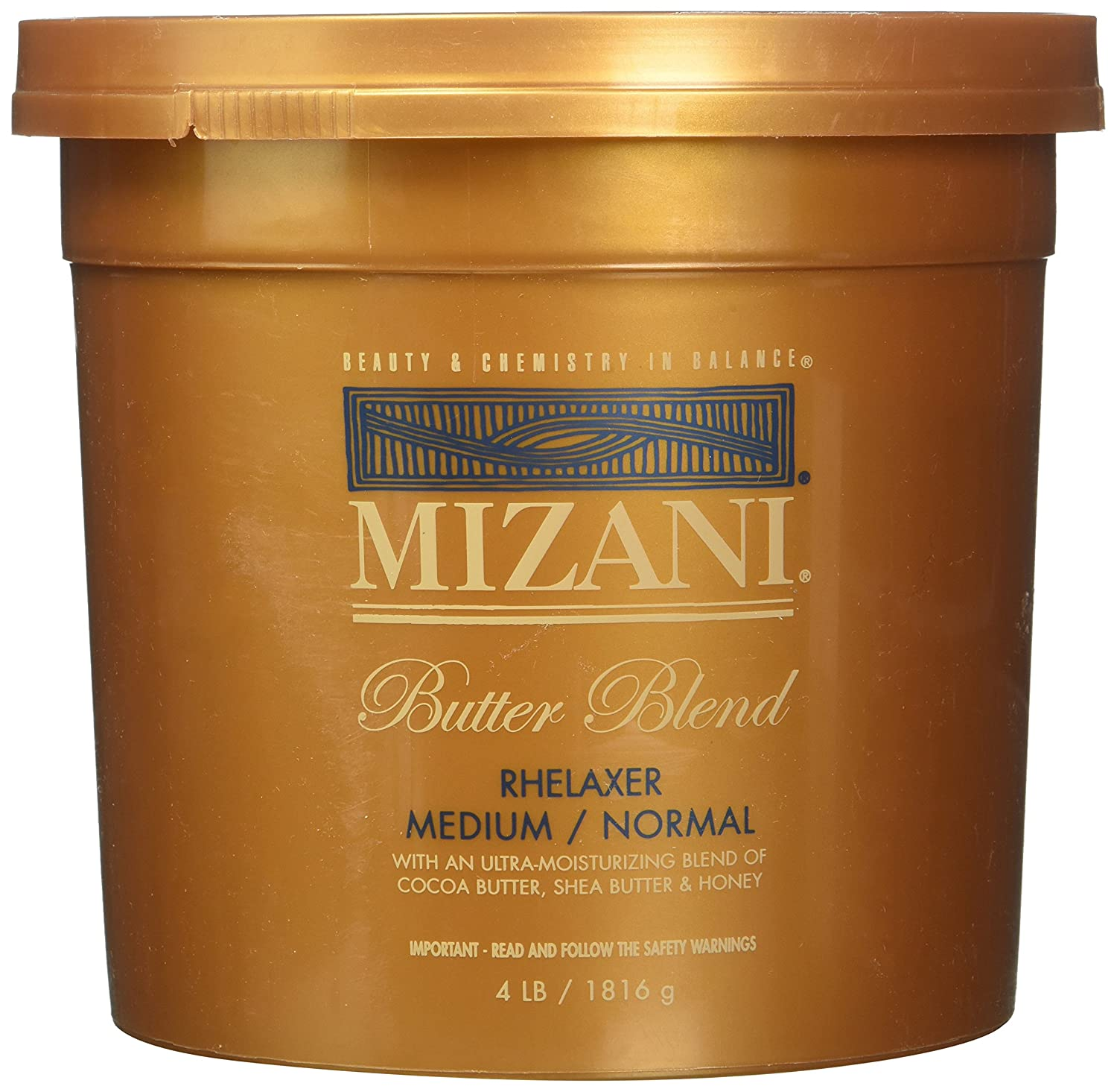 Mizani Butter Blend Relaxer Normal, réduction modérée maximale Curl £ 4