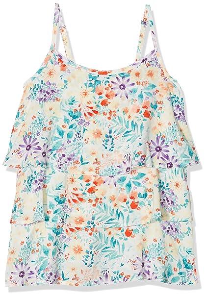 boboli 435013, Blusa para Niñas, (Estampado Flores), One Size (Tamaño