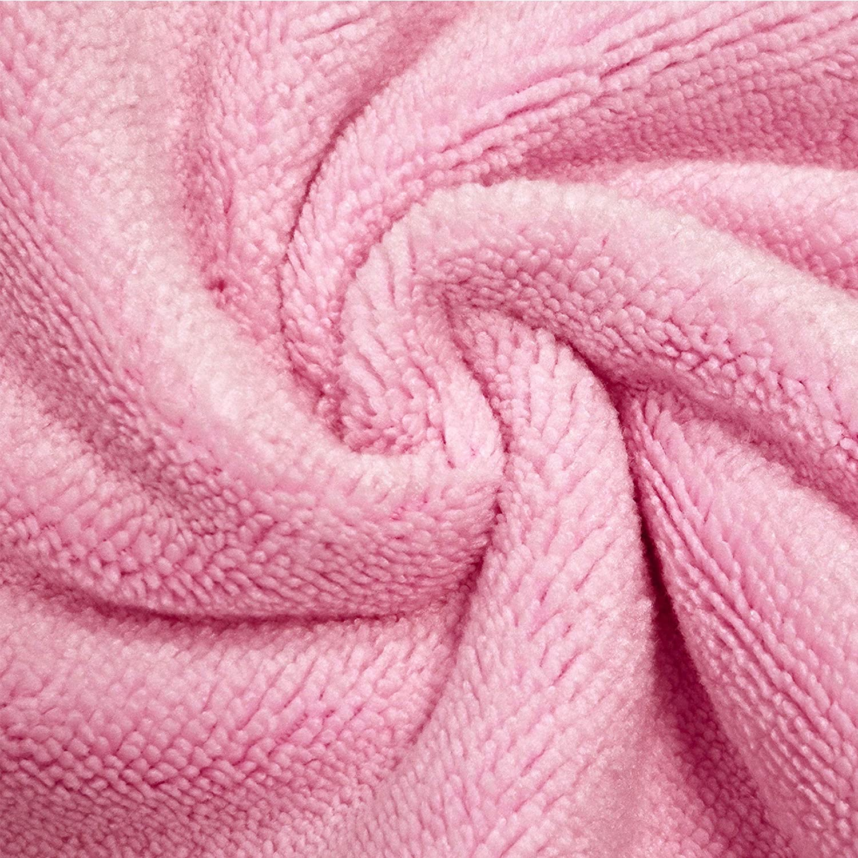 Polyte rose Par/éo de bain pour femme microfibres//s/èche rapidement taille unique