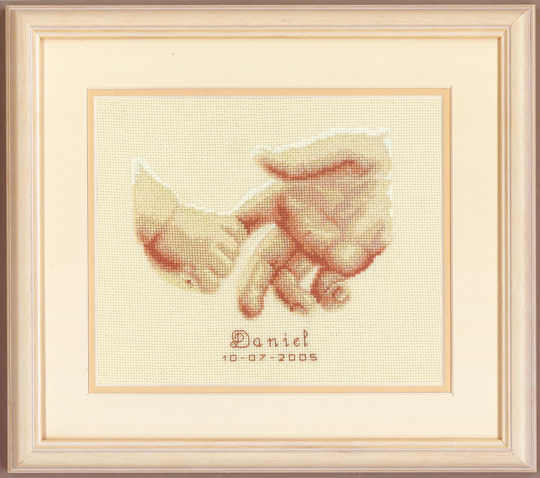 Vervaco Birth Record New-Born Cross Stitch Kit
