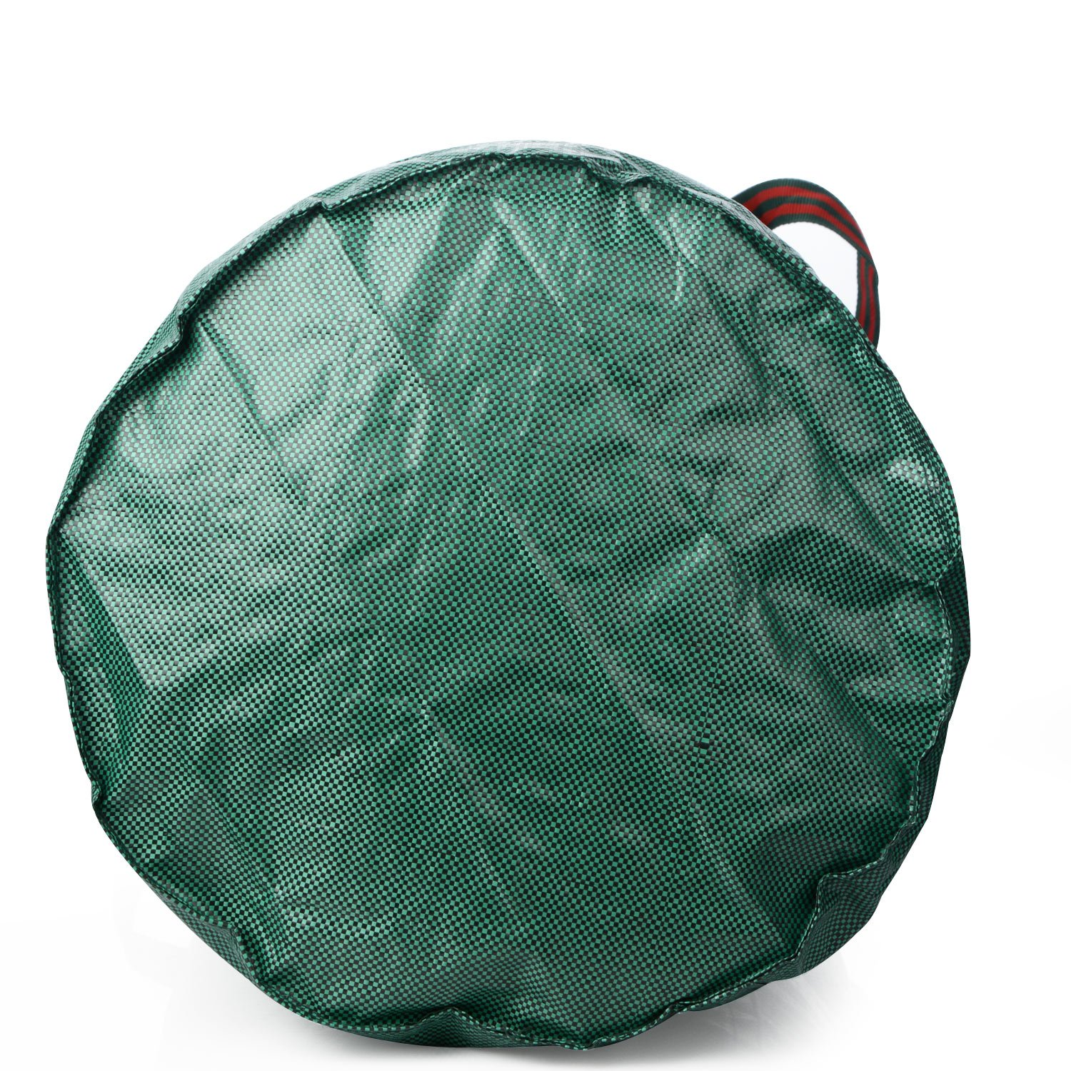 Reusable Garden Bag Heavy Duty Collapsible Lawn Pool Leaf Gardening Bags Pannow 2-Pack 32 Gallons Yard Waste Bags