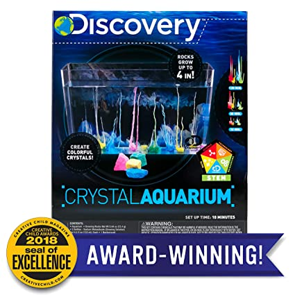cafb63a7d209b2 Amazon.com  Discovery Crystal Aquarium by Horizon Group USA  Toys   Games