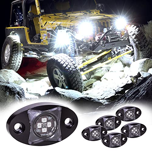 LAMPHUS 6pc Stardust SDRL14 4x4 4WD Jeep Truck Offroad LED Rock Light Kit