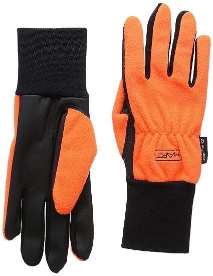 HART Modus Blaze - Guantes de Caza para Hombre, Color Naranja, Talla XS