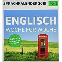 PONS Sprachkalender 2019: Englisch Woche für Woche