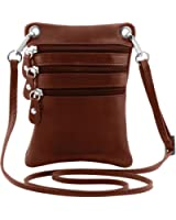 Tuscany Leather TL Bag - Soft leather mini cross bag Leather bags for men