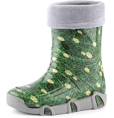 super calidad en pies imágenes de diseño atemporal Ladeheid Botas de Agua Zapatos de Seguridad Calzado Unisex Niños Swk