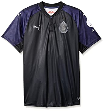 b435e982c7a Amazon.com  PUMA Men s Chivas Shirt Replica 17-18  Clothing