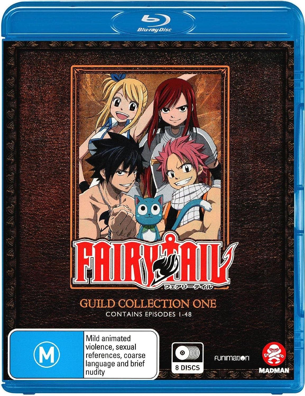 Amazon com: Fairy Tail Guild Collection 1 Episodes 1-48 | 8