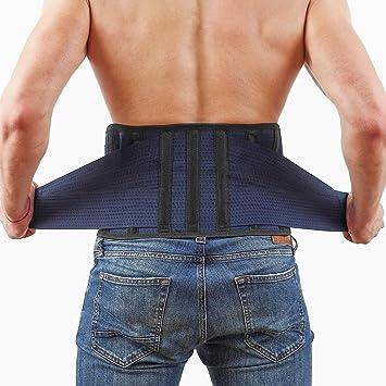 Amazon.com: Back Support Lower Back Brace - provides Back Pain ...