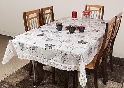 47b90168b2a58f STITCHNEST - Table Cover Anti Skid, PVC, Oval 4 Seater, 40 X 60 ...