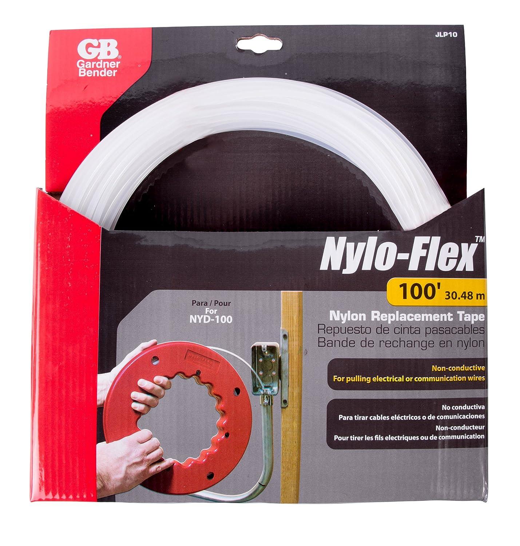 Gardner Bender JLP10 100-Feet Slipry-Snake Replacement Fish Tape, Nylo-Flex - Electrical Fish Tape - Amazon.com