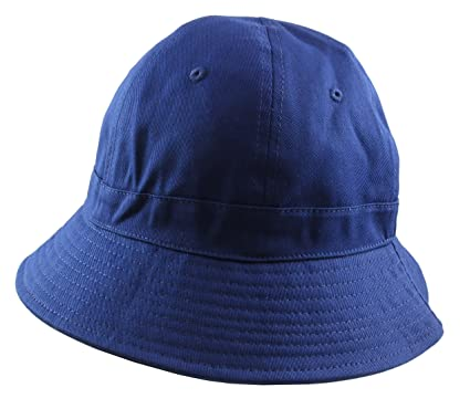 3679b5a3d5d City Hunter Bermuda 6 Panel Fabric Bucket Hat (Navy Blue)  Amazon.co.uk   Clothing