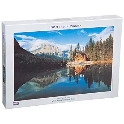 Tomax Banff National Part, World Heritage Site, Alberta, Canada 1000 Piece Jigsaw Puzzle: Toys & Games