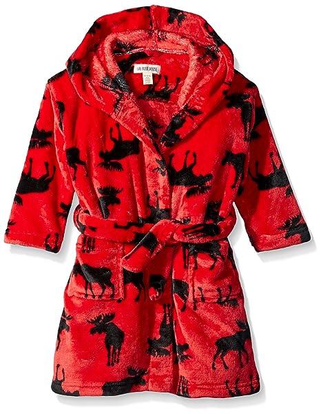 Hatley Fuzzy Fleece Robes Bata para Ni/ñas