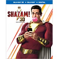 Shazam! (BIL/Blu-ray + 3D Blu-ray + Digital)