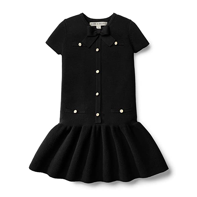 newest collection 4a1f4 d3703 Hope & Henry Girls' Milano Stitch Sweater Dress