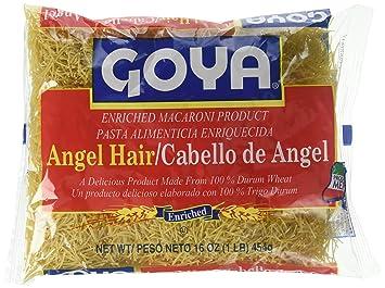 Amazon Com Goya Angel Hair 16 Oz Grocery Gourmet Food