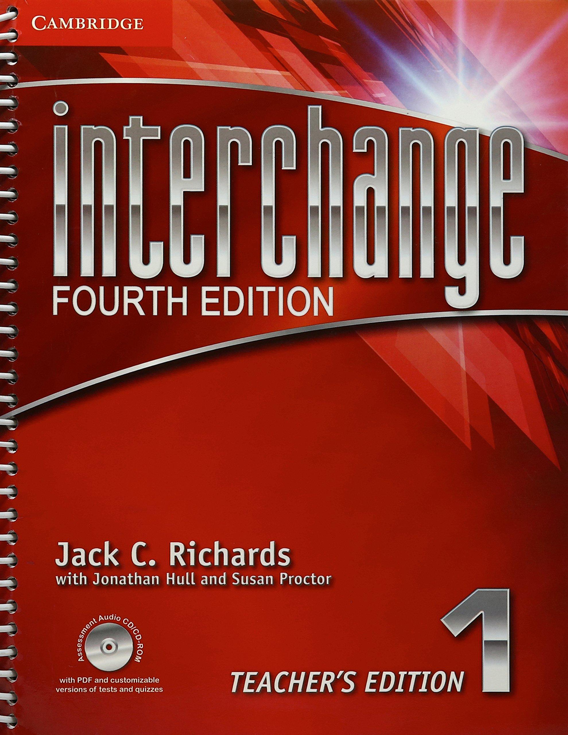 edition teachers fourth book interchange