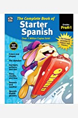 Carson Dellosa   Complete Book of Starter Spanish Workbook for Kids   416pgs Paperback
