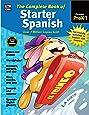 Carson Dellosa   Complete Book of Starter Spanish Workbook for Kids   416pgs