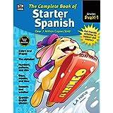Carson Dellosa | Complete Book of Starter Spanish Workbook for Kids | 416pgs