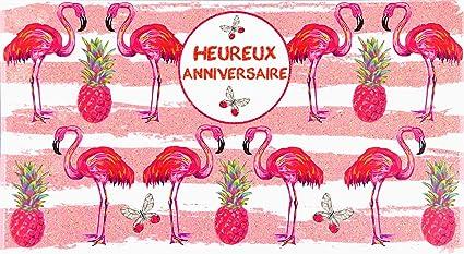 afie 69 - 4204 tarjeta feliz cumpleaños purpurina Flamenco ...