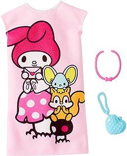 786d4bce4 Amazon.com: Barbie Hello Kitty Blue Dress Fashion Pack: Toys & Games