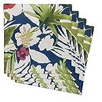 Tommy Bahama Le Bernin Floral servilletas (Juego de 4)