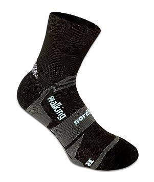 Nordhorn calcetines técnicos Walking, negro, 35-37