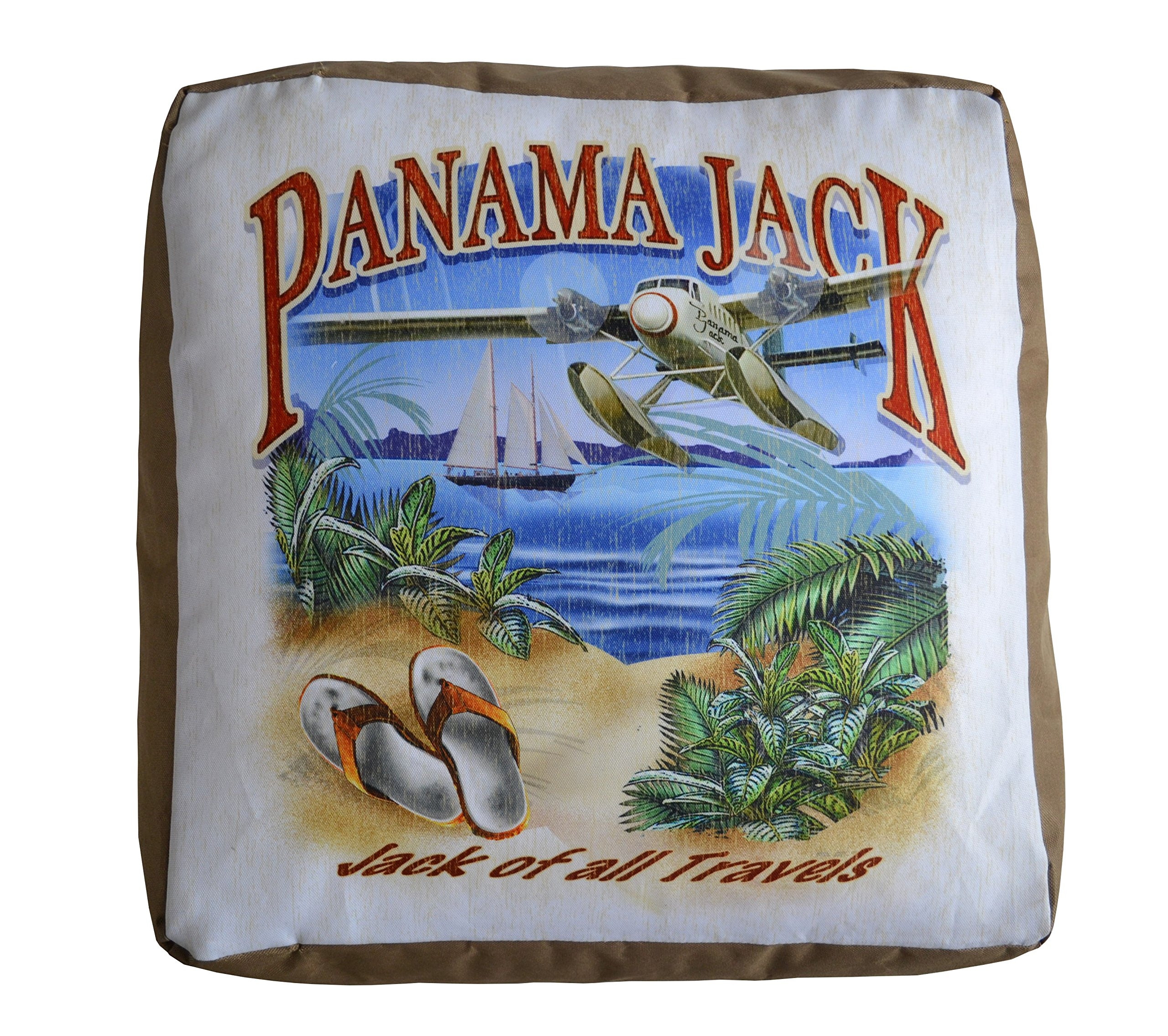 Panama Jack of All Travels Pouf Ottoman by Panama Jack (Image #1)