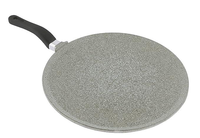 "Mopita 32cm/12.6"" Non-Stick Cast Aluminum Crepe Pan, Large, Grey best crepe pan"
