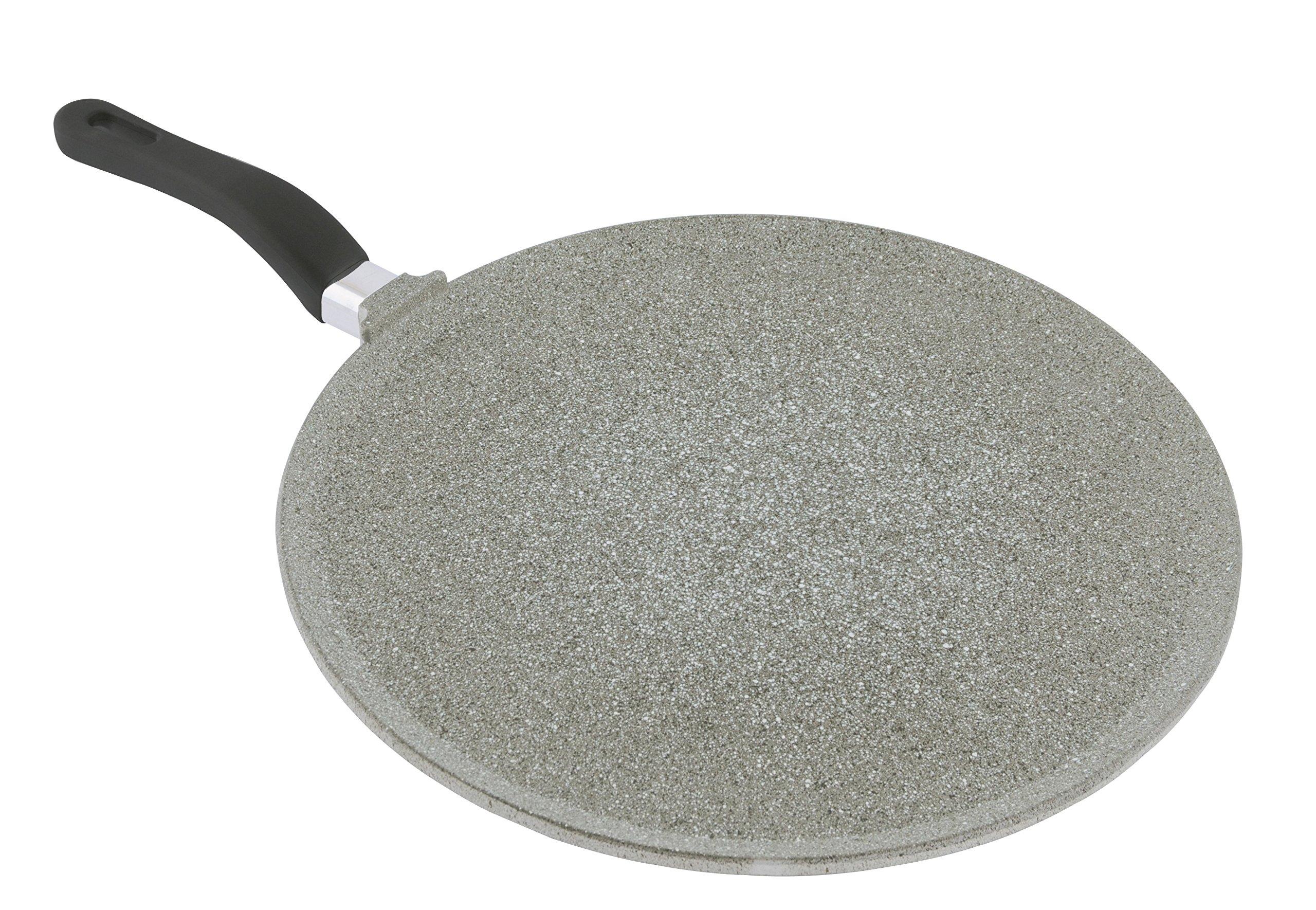 Mopita 24cm/9.45'' Non-Stick Cast Aluminum Crepe Pan, Medium, Grey