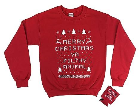 Merry Christmas Ya Filthy Animal Shirt Christmas Cards