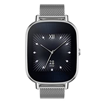 Asus WI501Q-4MGLD0002 Zen Watch Montre AMOLED 2320 x 320 Pixels Android 4 Go
