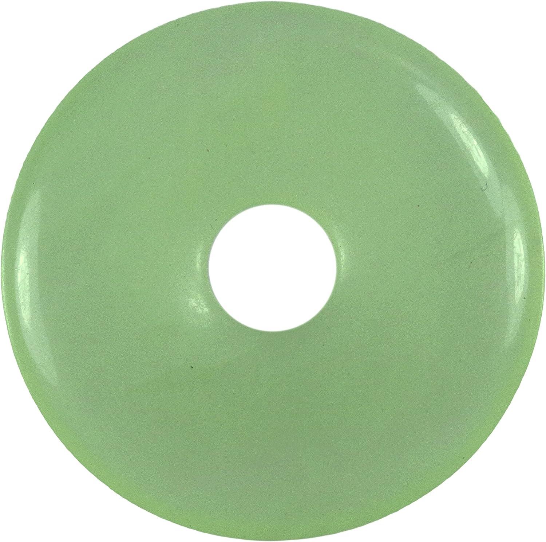 Fuente de Vida Plus China-Jade Piedras Preciosas Donut Ø 30 mm Colgante