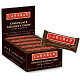 Larabar Gluten Free Bar, Chocolate Coconut Chew, 1.6 oz Bars (16 Count)