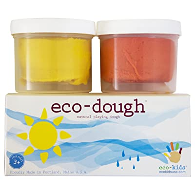 eco-Dough 2 Pack Sun: Toys & Games