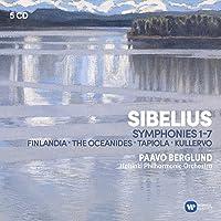 Sibelius: Symphonies Kullervo Finlandia Tapiola