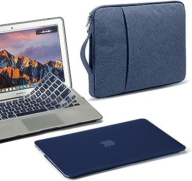 Estuche para GMYLE MacBook Air de 13 pulgadas, cubierta de plástico mate, lisa y dura, funda protectora de 13,3 pulgadas, cubierta de teclado para Apple Mac Air 13 A1466 A1369: Amazon.es: Electrónica
