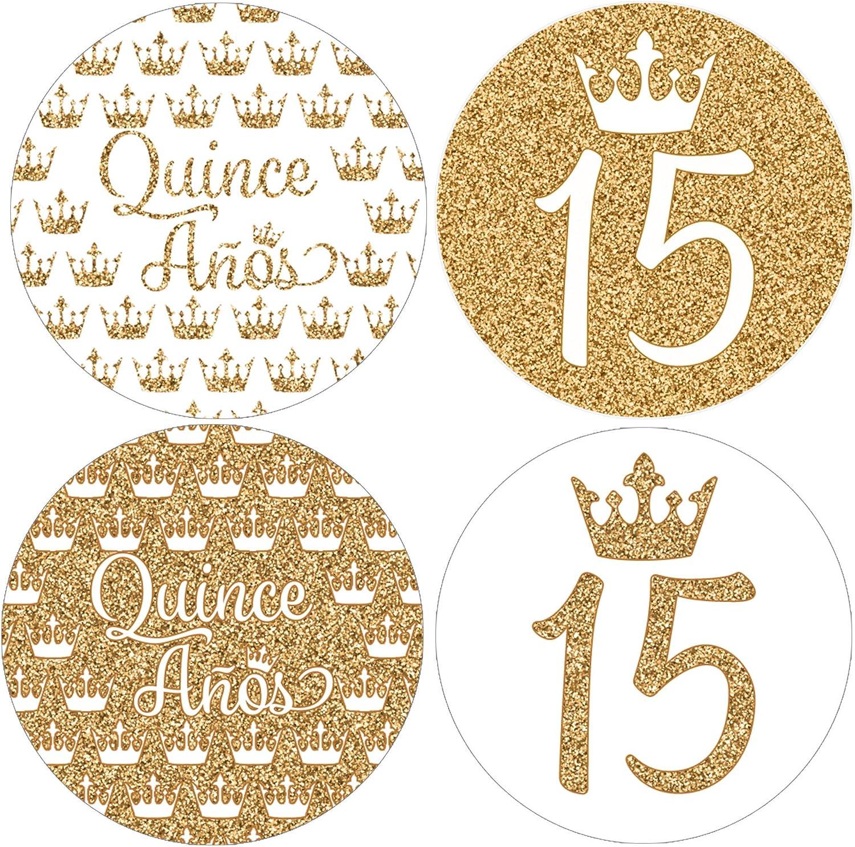 Quincea\u00f1era Labels Quincea\u00f1era Favors Labels Personalized labels Quincea\u00f1era Sticker Sweet 16 Favors Labels Sweet 16 Birthday Labels