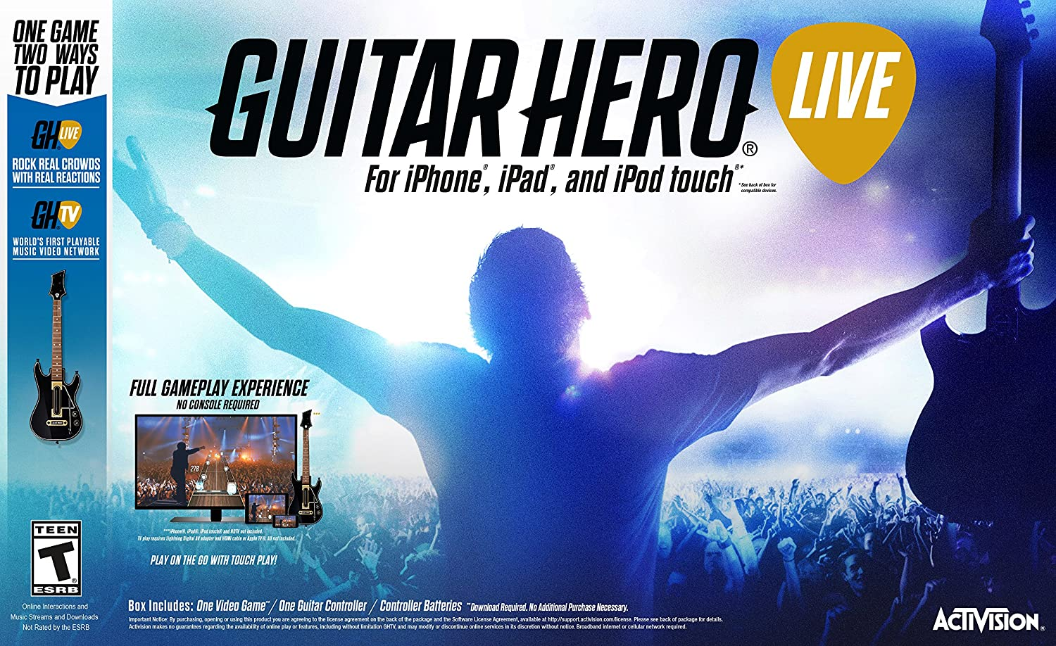 Amazon Guitar Hero Live Ios Tablet Video Games
