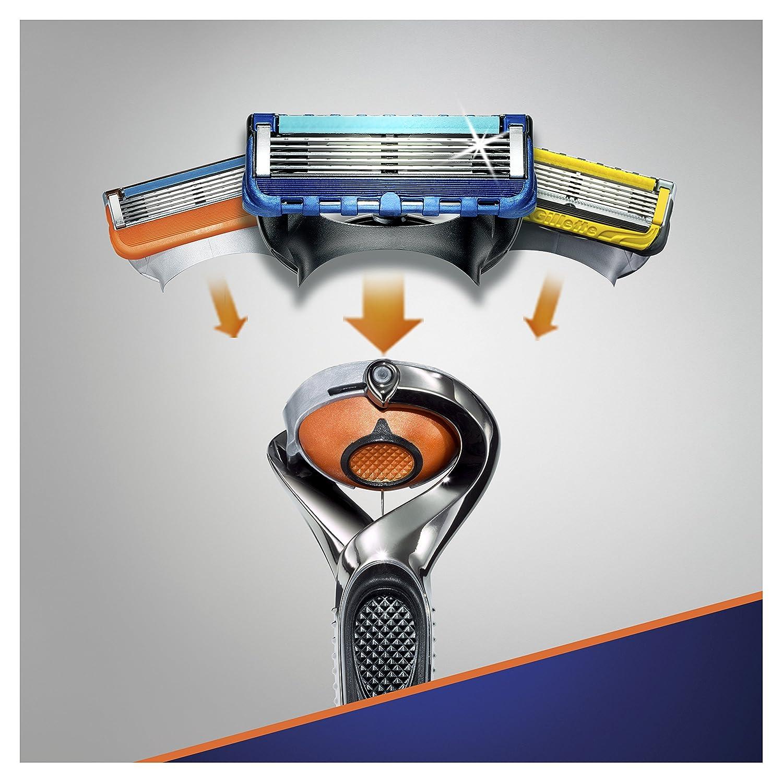 Gillette Fusion ProGlide Maquinilla de afeitar - 10 Recambios ...