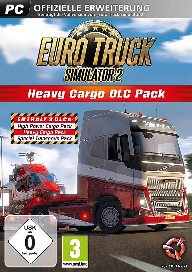 Euro Truck Simulator 2: Heavy Cargo DLC Pack (DLC only) [Importación alemana]: Amazon.es: Videojuegos