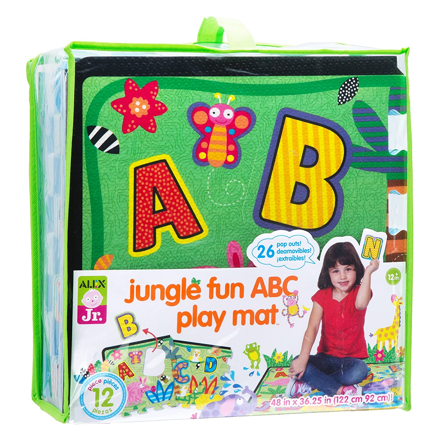 Alex Toys Jr. Jungle Fun ABC Play Mat 579B