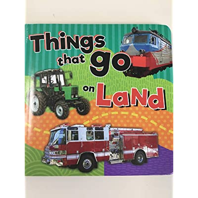 BoardBook Things That Go On Land: Toys & Games