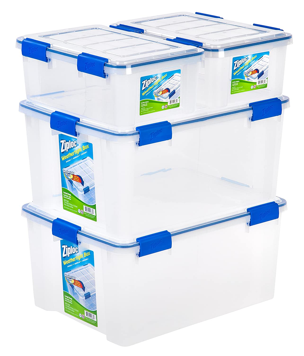 Ziploc WeatherShield Storage Box Set