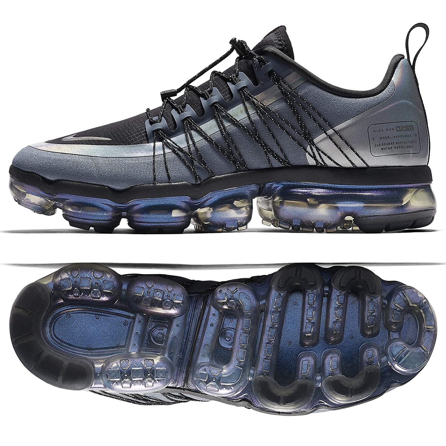 Nike Air Vapormax 2019 Mens Roading Running Shoes (10.5, 青 Dusk/黒/Anthracite)