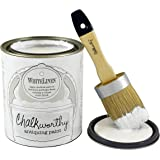 Giani Granite FG-CW WHTL PT Chalkworthy Antiquing Paint Pint, 16 oz, White Linen
